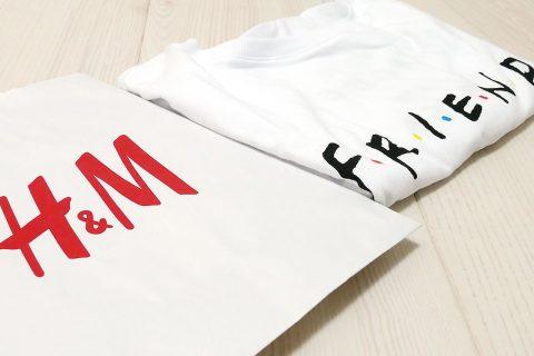 H&Mで海外ドラマ『Friends(フレンズ)』のTシャツを購入!