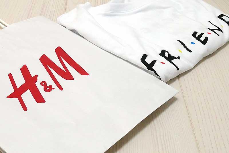 H&M フレンズTシャツ