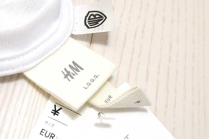 H&M フレンズTシャツのタグ