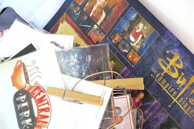 バフィー ~恋する十字架~のカレンダーと海外ドラマポストカード