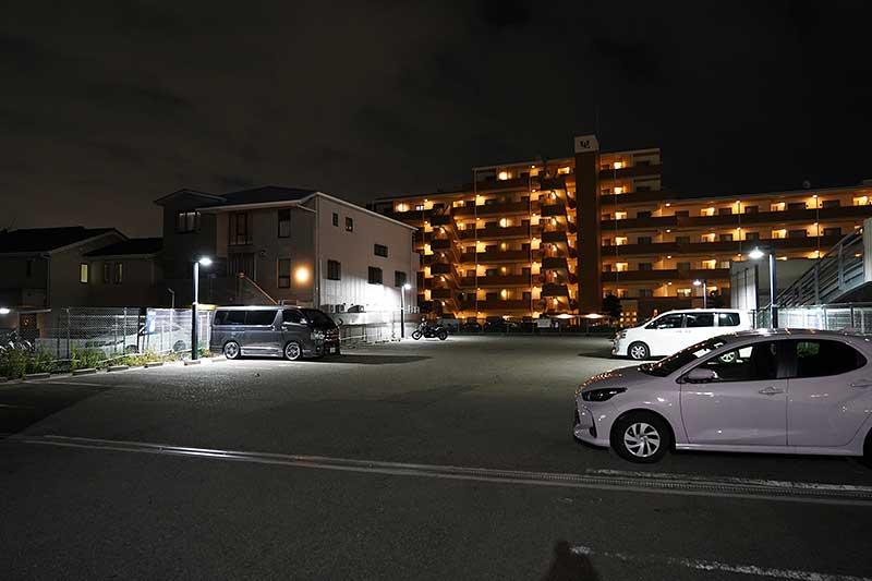 西宮北口店『一風堂』の駐車場