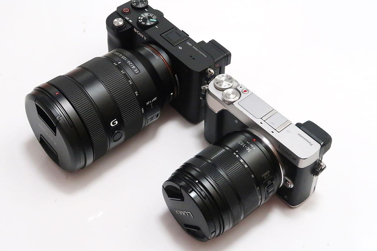 【コンパクトミラーレス】SONY α7Cを買った理由とサイズ比較
