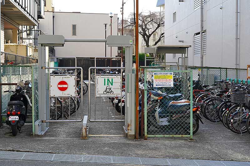 小さな駐輪場・キョン駐輪場