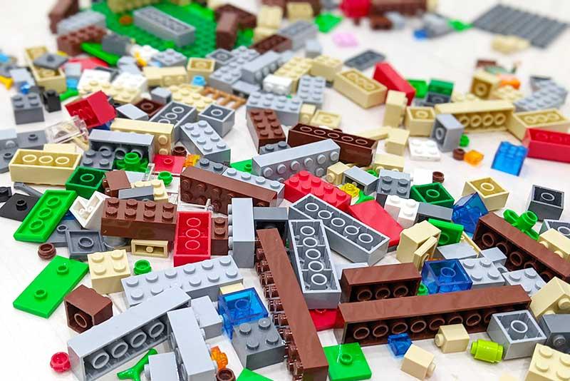 マインクラフトのレゴブロック