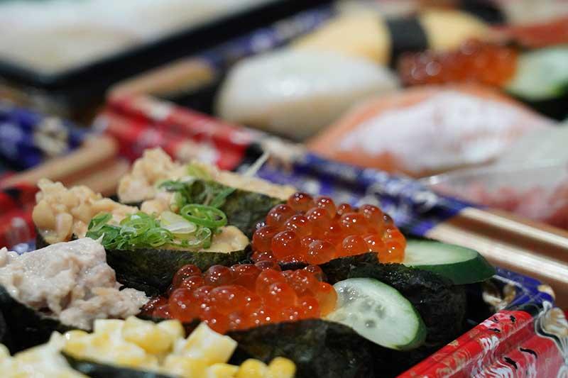 自宅・お寿司