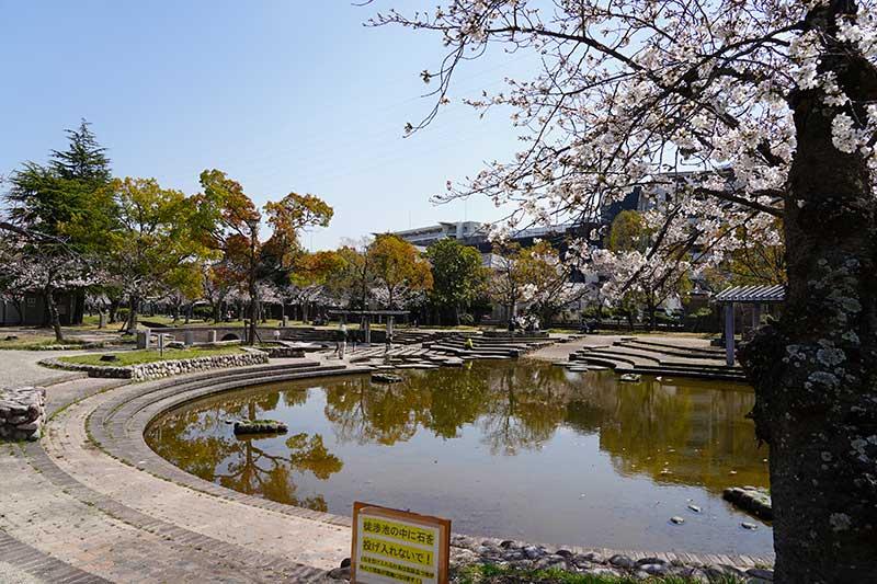 西武庫公園・徒渉池