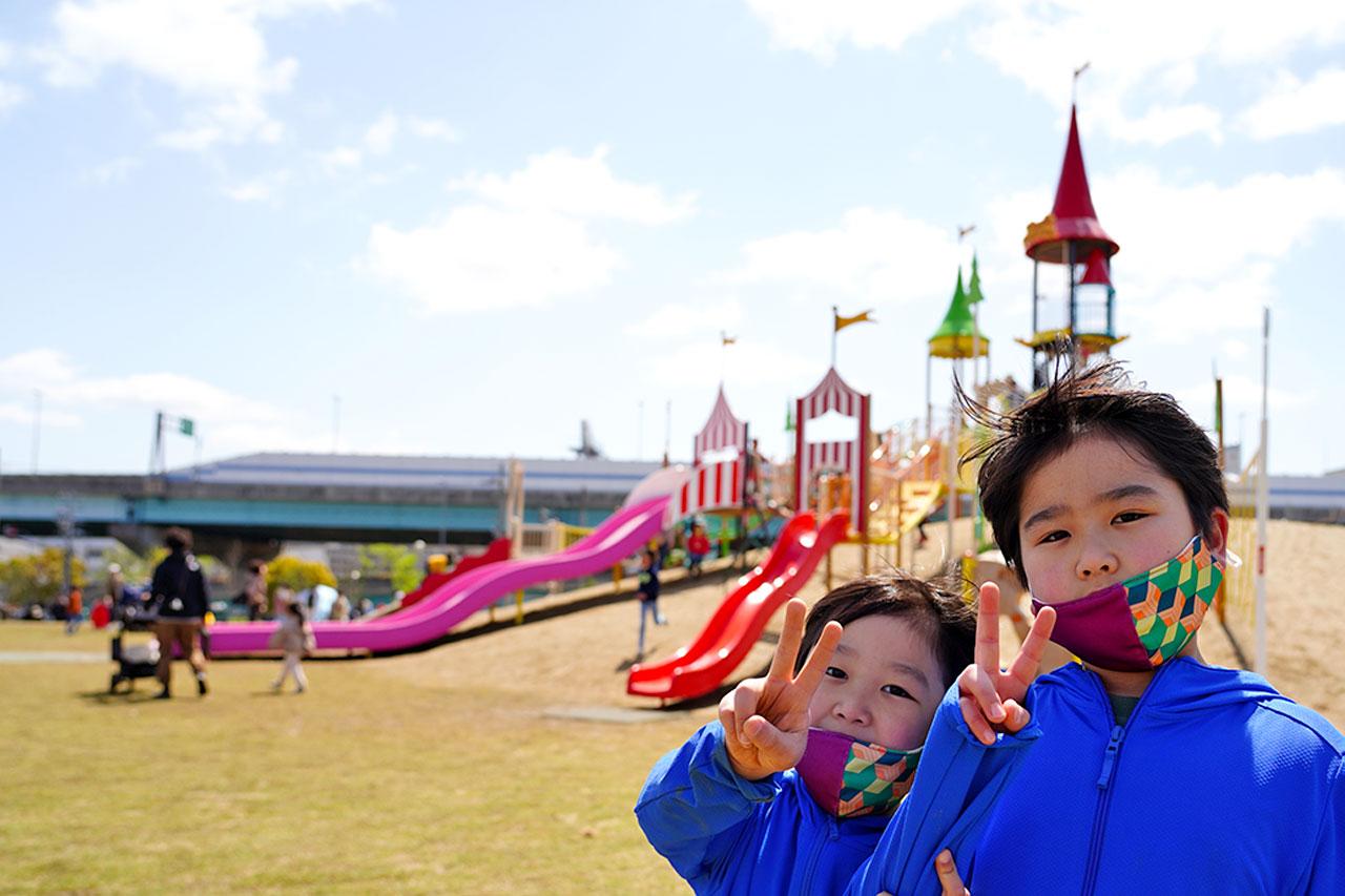 西宮浜『みやっこキッズダム』のオススメ遊具・公園紹介と体験レビュー!