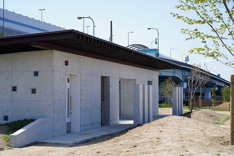 西宮浜総合公園(みやっこキッズダム)のトイレ