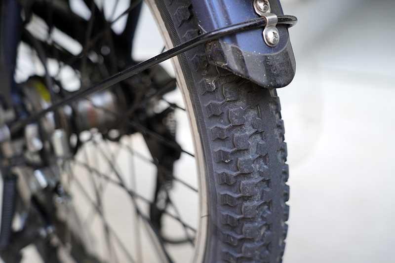 電動自転車のタイヤ