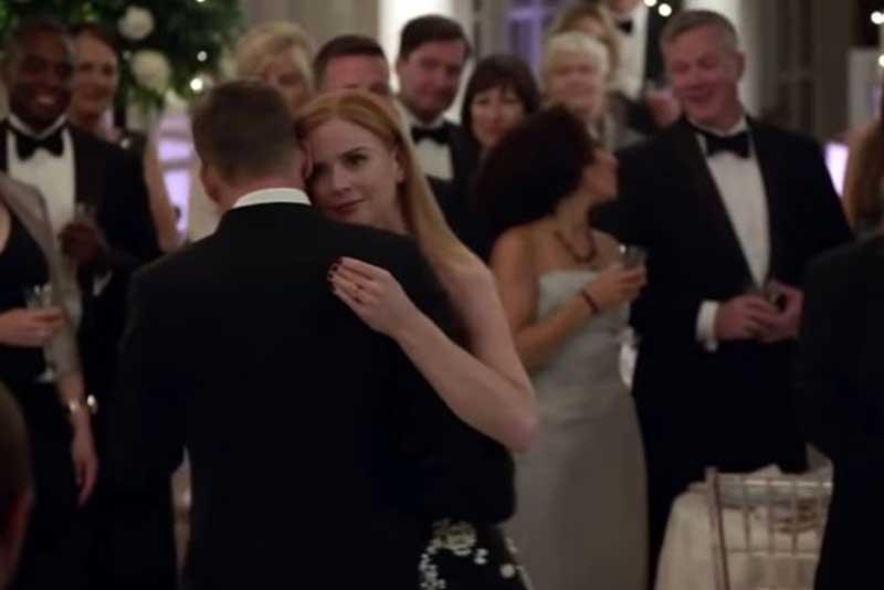 ドナとハーヴィーの結婚式