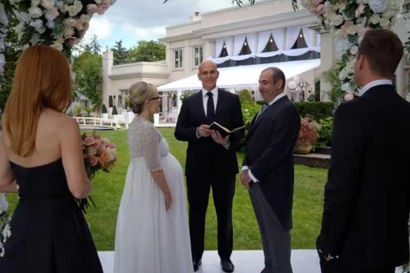 ルイスの結婚式