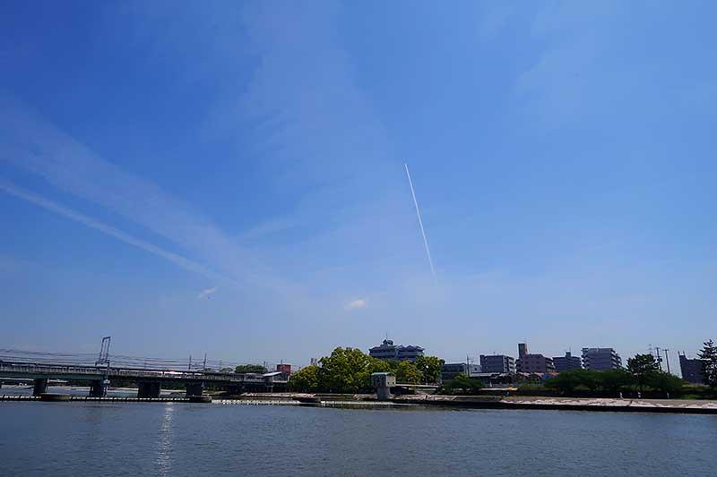 武庫川の風景