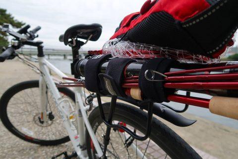 新しいロッドで自転車(試投)釣行!!
